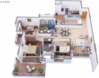 2050 sqft, 3 bhk Apartment in Tata Capitol Heights Rambagh, Nagpur at Rs. 60000