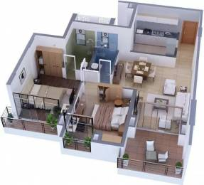 1350 sqft, 2 bhk Apartment in Tata Capitol Heights Rambagh, Nagpur at Rs. 27000