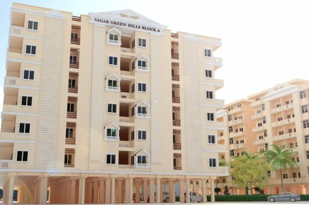 1315 sqft, 3 bhk Apartment in Builder Sagar Green Hills Kolar Road, Bhopal at Rs. 41.9000 Lacs
