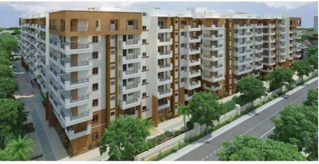 2192 sqft, 3 bhk Apartment in Western Exotica Kondapur, Hyderabad at Rs. 1.1300 Cr
