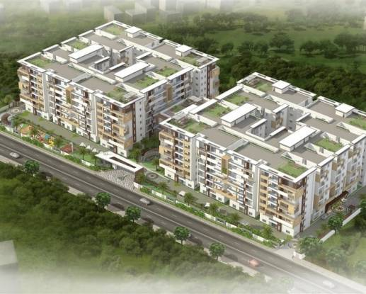 2192 sqft, 3 bhk Apartment in Western Exotica Kondapur, Hyderabad at Rs. 1.0522 Cr