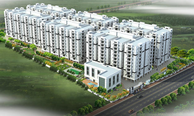 1725 sqft, 3 bhk Apartment in GreenMark Galaxy Apartments Kondapur, Hyderabad at Rs. 93.4670 Lacs