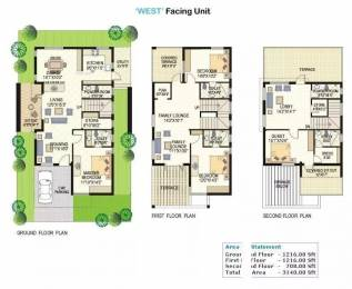 3140 sqft, 4 bhk Villa in Vertex Lake View Pragathi Nagar Kukatpally, Hyderabad at Rs. 2.0000 Cr