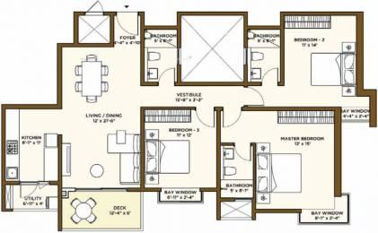 1768 sqft, 3 bhk Apartment in Bhartiya Nikoo Homes 2 Kannur on Thanisandra Main Road, Bangalore at Rs. 1.1000 Cr