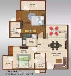 1150 sqft, 2 bhk Apartment in Ace Platinum Zeta 1 Zeta, Greater Noida at Rs. 42.0000 Lacs