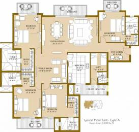 3200 sqft, 4 bhk Apartment in ATS Pristine Sector 150, Noida at Rs. 1.9200 Cr