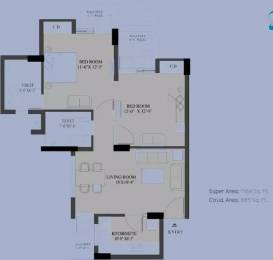1164 sqft, 2 bhk Apartment in Stellar MI Citihomes Omicron, Greater Noida at Rs. 38.5000 Lacs