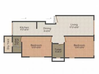 1150 sqft, 2 bhk Apartment in Heritage Shakuntala Mahal Chembur, Mumbai at Rs. 2.2000 Cr