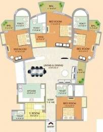 2125 sqft, 4 bhk Apartment in SDS NRI Residency Omega, Greater Noida at Rs. 20000