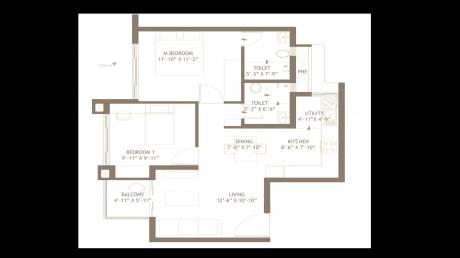 1089 sqft, 2 bhk Apartment in Embassy Edge Devanahalli, Bangalore at Rs. 41.0000 Lacs