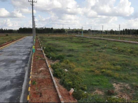 1500 sqft, Plot in Aashrithaa Brindavan Kanakapura Road Beyond Nice Ring Road, Bangalore at Rs. 26.2500 Lacs