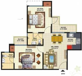 875 sqft, 2 bhk Apartment in Amrapali Princely Estate Sector 76, Noida at Rs. 45.0000 Lacs