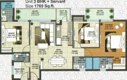 1765 sqft, 3 bhk Apartment in Rishita Manhattan Gomti Nagar Extension, Lucknow at Rs. 58.0000 Lacs