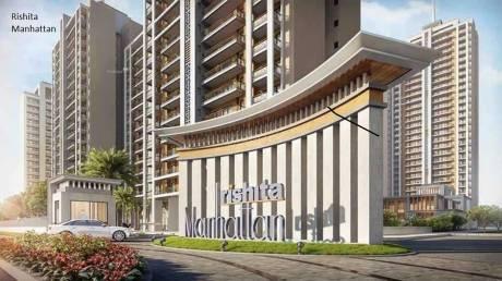 1375 sqft, 3 bhk Apartment in Rishita Manhattan Gomti Nagar Extension, Lucknow at Rs. 49.5000 Lacs