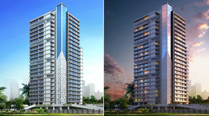 1400 sqft, 3 bhk Apartment in Dedhia Elita Thane West, Mumbai at Rs. 1.2500 Cr