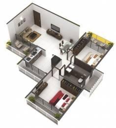 680 sqft, 1 bhk Apartment in Riddhi Shivjinal Sector 23 Ulwe, Mumbai at Rs. 47.0000 Lacs