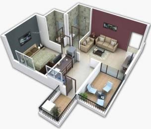 780 sqft, 1 bhk Apartment in Aditya Tulsi Aangan Ulwe, Mumbai at Rs. 42.0000 Lacs