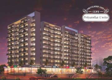 997 sqft, 2 bhk Apartment in Priyanka Unite Ulwe, Mumbai at Rs. 75.0000 Lacs