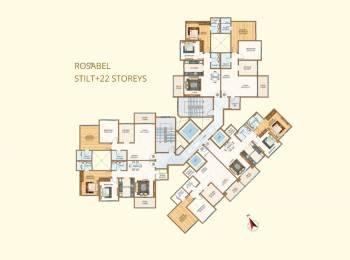 1094 sqft, 2 bhk Apartment in Sheth Vasant Oasis Andheri East, Mumbai at Rs. 2.2200 Cr