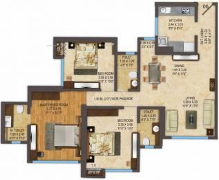 1320 sqft, 3 bhk Apartment in ACME Oasis Tower 2 Kandivali East, Mumbai at Rs. 2.4800 Cr