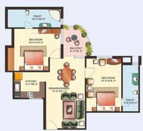1190 sqft, 2 bhk Apartment in Gaursons Heights Sector 4 Vaishali, Ghaziabad at Rs. 60.0000 Lacs