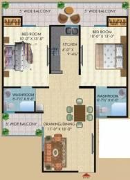 1121 sqft, 2 bhk Apartment in Saya Desire Residency Ahinsa Khand 2, Ghaziabad at Rs. 54.0000 Lacs