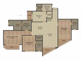 1333 sqft, 3 bhk Apartment in Lodha Fiorenza Goregaon East, Mumbai at Rs. 3.6000 Cr