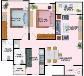 1200 sqft, 2 bhk Apartment in Mirchandani Shalimar Palms Bhicholi Mardana, Indore at Rs. 36.0000 Lacs
