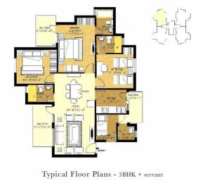 1675 sqft, 3 bhk Apartment in Orris Aster Court Sector 85, Gurgaon at Rs. 62.5000 Lacs