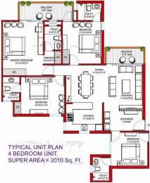 2010 sqft, 4 bhk Apartment in Tulip Violet Sector 69, Gurgaon at Rs. 1.1300 Cr