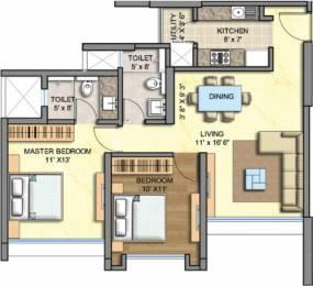 1165 sqft, 2 bhk Apartment in Runwal Greens Mulund West, Mumbai at Rs. 1.9000 Cr