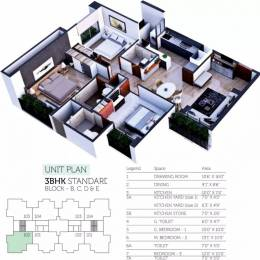 1615 sqft, 3 bhk Apartment in Sheetal Westpark Residency Vastrapur, Ahmedabad at Rs. 75.9000 Lacs