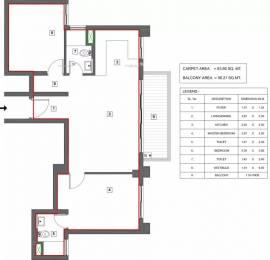 1125 sqft, 2 bhk Apartment in Vatika Turning Point Sector 88B, Gurgaon at Rs. 75.0000 Lacs