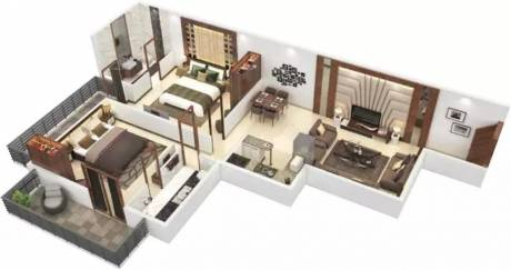739 sqft, 2 bhk Apartment in Signature The Roselia Sector 95A, Gurgaon at Rs. 23.0500 Lacs