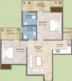 570 sqft, 2 bhk Apartment in Adore Samriddhi Sector 89, Faridabad at Rs. 23.3000 Lacs