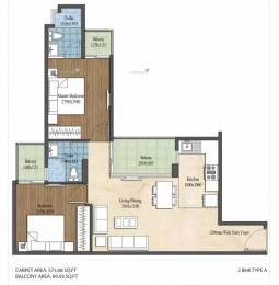 747 sqft, 2 bhk Apartment in Imperia Aashiyara Sector 37C, Gurgaon at Rs. 23.4878 Lacs