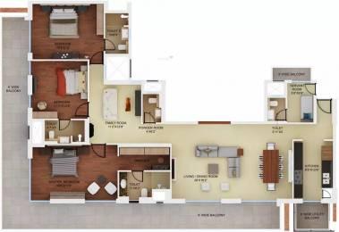 2985 sqft, 3 bhk Apartment in Mahindra Luminare Sector 59, Gurgaon at Rs. 4.0300 Cr