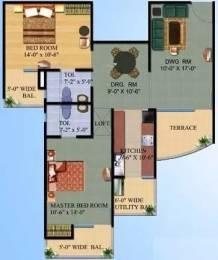 1250 sqft, 2 bhk Apartment in Ajnara Gen X Crossing Republik, Ghaziabad at Rs. 8000