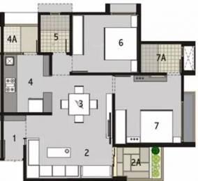 1260 sqft, 2 bhk Apartment in Binori Sonnet Bopal, Ahmedabad at Rs. 50.0000 Lacs