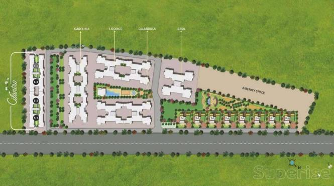 1090 sqft, 2 bhk Apartment in Kolte Patil Cilantro Wagholi, Pune at Rs. 51.0000 Lacs
