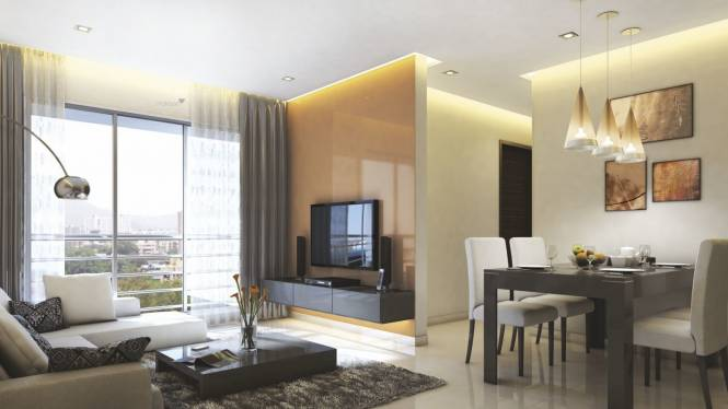 513 sqft, 1 bhk Apartment in Ecopark Eco Winds Bhandup West, Mumbai at Rs. 86.2000 Lacs