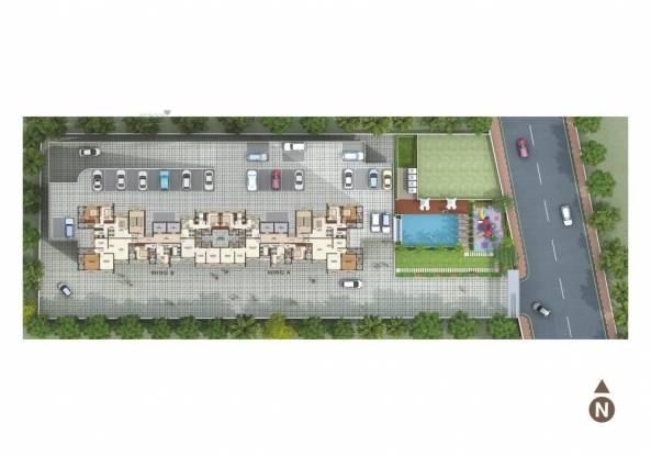 513 sqft, 1 bhk Apartment in Ecopark Eco Winds Bhandup West, Mumbai at Rs. 86.4400 Lacs