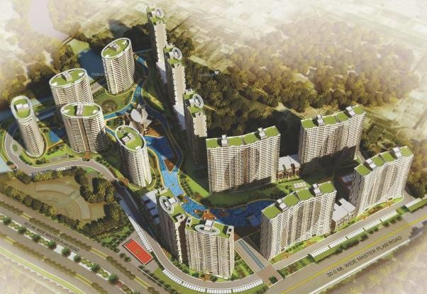 1285 sqft, 2 bhk Apartment in Builder Omaxe The Lake Mullanpur, Mohali at Rs. 59.1143 Lacs