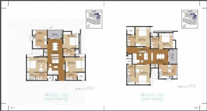1590 sqft, 3 bhk Apartment in Builder Project Anna Nagar, Chennai at Rs. 1.8683 Cr