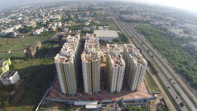 1290 sqft, 3 bhk Apartment in Builder luxury 3bhk apartment in mogappair Mogappair, Chennai at Rs. 78.6900 Lacs