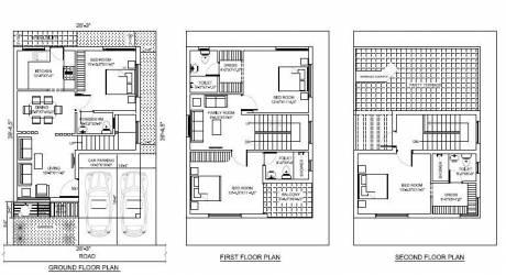 2454 sqft, 3 bhk Villa in Builder Project Kolapakkam, Chennai at Rs. 1.3500 Cr