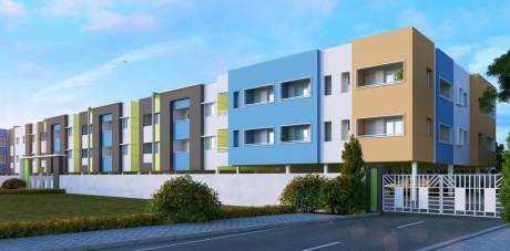635 sqft, 1 bhk Apartment in Builder 1BHK apartment for sale West Tambaram, Chennai at Rs. 23.4950 Lacs