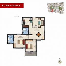 962 sqft, 2 bhk Apartment in Builder Project Rajakilpakkam, Chennai at Rs. 50.9860 Lacs
