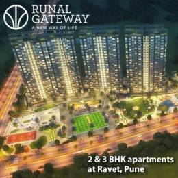 994 sqft, 3 bhk Apartment in Runal Gateway Phase 1 Ravet, Pune at Rs. 52.6827 Lacs