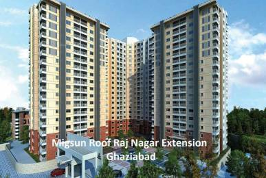 675 sqft, 2 bhk Apartment in Migsun Migsun Roof Raj Nagar Extension, Ghaziabad at Rs. 15.3906 Lacs